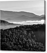 Early Morning On Blue Ridge Parkway Canvas Print