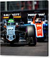 Formula 1 Monaco Grand Prix 2016 Canvas Print