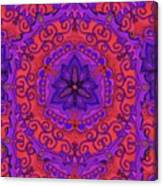 Indian Fabric Pattern Canvas Print
