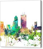 Jacksonville Florida Skyline Canvas Print
