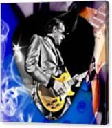 Joe Bonamassa Blues Guitarist Art Canvas Print
