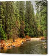 Merced River Yosemite Valley Canvas Print