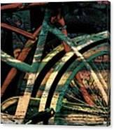 9 Million Bicycles  Canvas Print