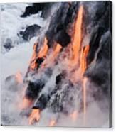 Pahoehoe Lava Flow Canvas Print