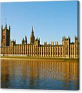 Palace Of Westminster, Houses Of Parliament, And Big Ben Canvas Print