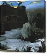 Pennsylvania Station Excavation Canvas Print
