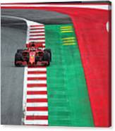 Sebastian Vettel Ferrari  Canvas Print