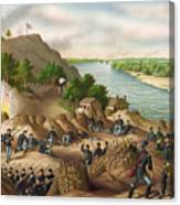 Siege Of Vicksburg, 1863 Canvas Print