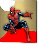 Spiderman Collection Canvas Print