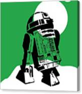 Star Wars R2-d2 Collection Canvas Print