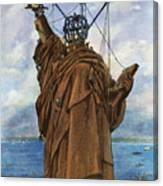 Statue Of Liberty 1886 Canvas Print