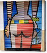 Street Art In Palma Majorca Spain Canvas Print