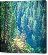 Vast Scenic Montana State Landscapes And Nature Canvas Print