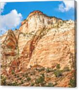 Zion Canyon National Park Utah Canvas Print