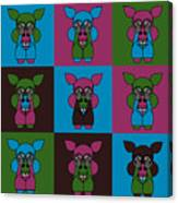 9 Zoo-Veterinarians Canvas Print