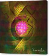 90s Neon Canvas Print