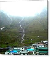 Splendors Of Himalayas Canvas Print