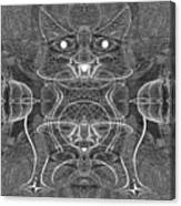 991 Feline  Creature Canvas Print
