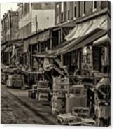9th Street Italian Market - Philadelphia Pennsylvania Canvas Print