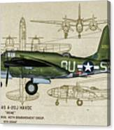 A-20 Havoc - Irene Canvas Print