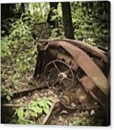Abandoned 50s Classic.... Canvas Print
