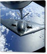 A B-2 Spirit Moves Into Position Canvas Print
