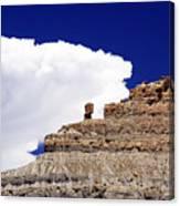 A Balanced Rock Canvas Print