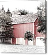 A Barn In The City Canvas Print