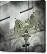 A Bat In The Belfry Canvas Print