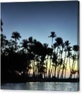 A-bay Aloha Canvas Print