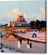 A Beach Scene Canvas Print