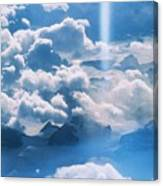 A Beam Of Heavenly Light Canvas Print