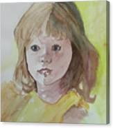 A Beautiful Child Canvas Print