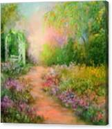 A Beautiful Walk Canvas Print