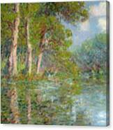 A Bend In The Eure Canvas Print