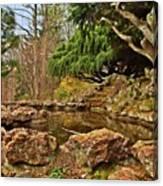 A Better Place - Deep Cut Gardens Canvas Print