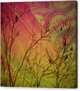 A Bird's Dream Of Summer Canvas Print