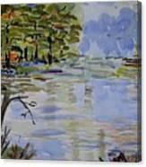 A Bit Of Nature - Impressionistic Canvas Print