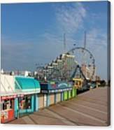 A Boardwalk Canvas Print