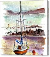 A Boat On Anglesey 01 Canvas Print