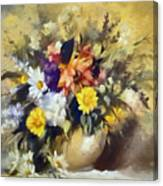 A Bouquet For Elizabeth Canvas Print