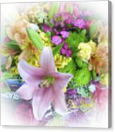 A Bouquet For My Love 46 Canvas Print