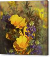 A Bouquet Of Spring  Canvas Print