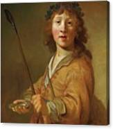 A Boy In The Guise Canvas Print