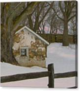 A Brandywine Winter Canvas Print