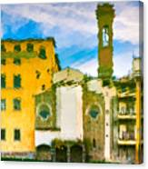 A Breeze Over Florence Canvas Print
