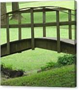 A Bridge In Washington County Canvas Print