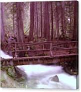 A Bridge To Paradise Canvas Print