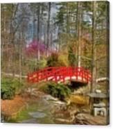 A Bridge To Spring Canvas Print