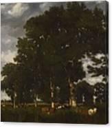 A Bright Day 1840 Canvas Print